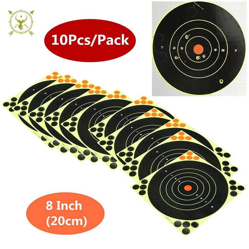 Shooting Air Rifle Target Reactive Splatter