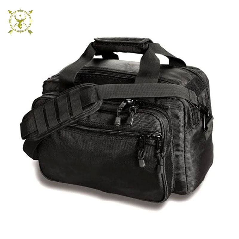 Uncle mike's side-armor series deluxe range Black bag