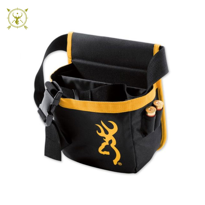 Browning Short Pure Pouch Bag Black and Gold