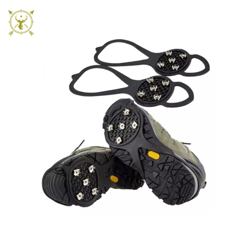 Ice Traction Shoe Cleats
