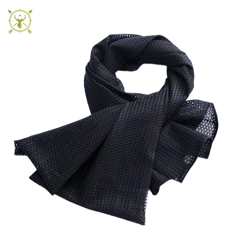 Mesh Tactical Camouflage Scarf Veil Neckerchief For Hunting And Outdoor