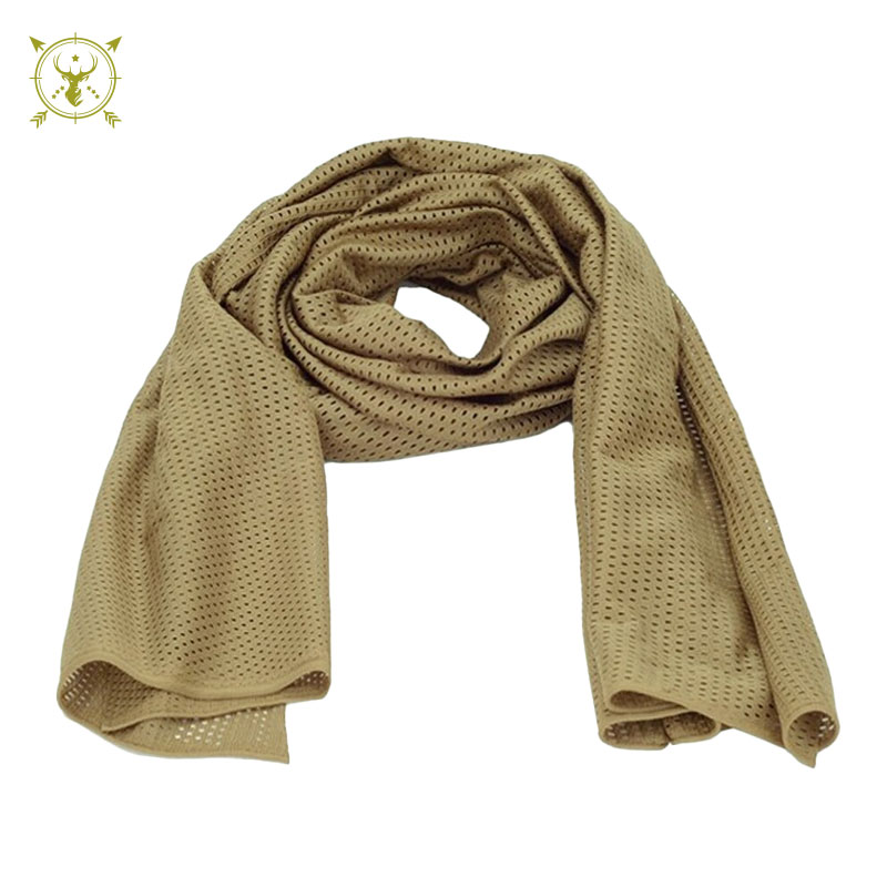 Camouflage Hunting Mesh Breathable Scarf