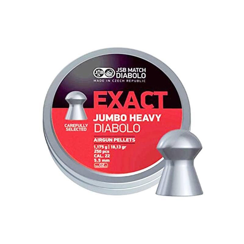 JSB Exact Jumbo Heavy .22 Cal. 18.13 gr