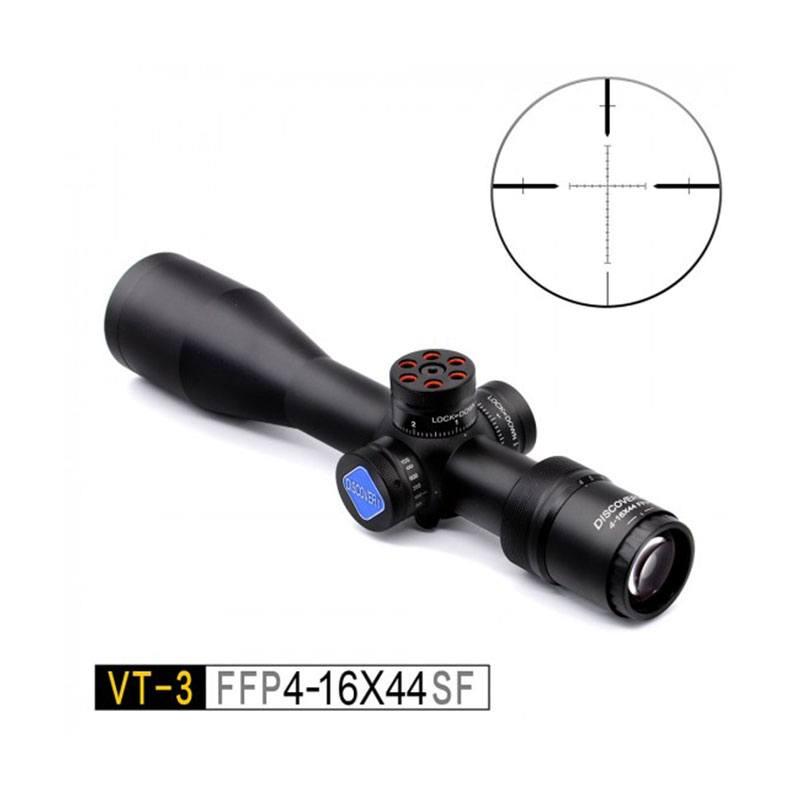 Discovery Optics Scope VT-3 4-16X44 SF FFP Compact RifleScope