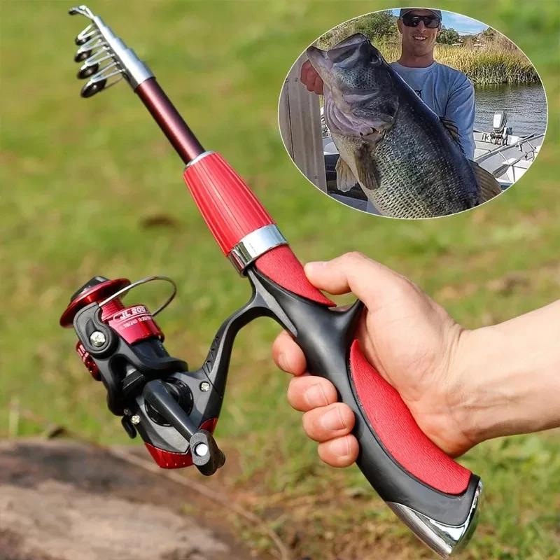 MINI FISHING ROD WITH REEL