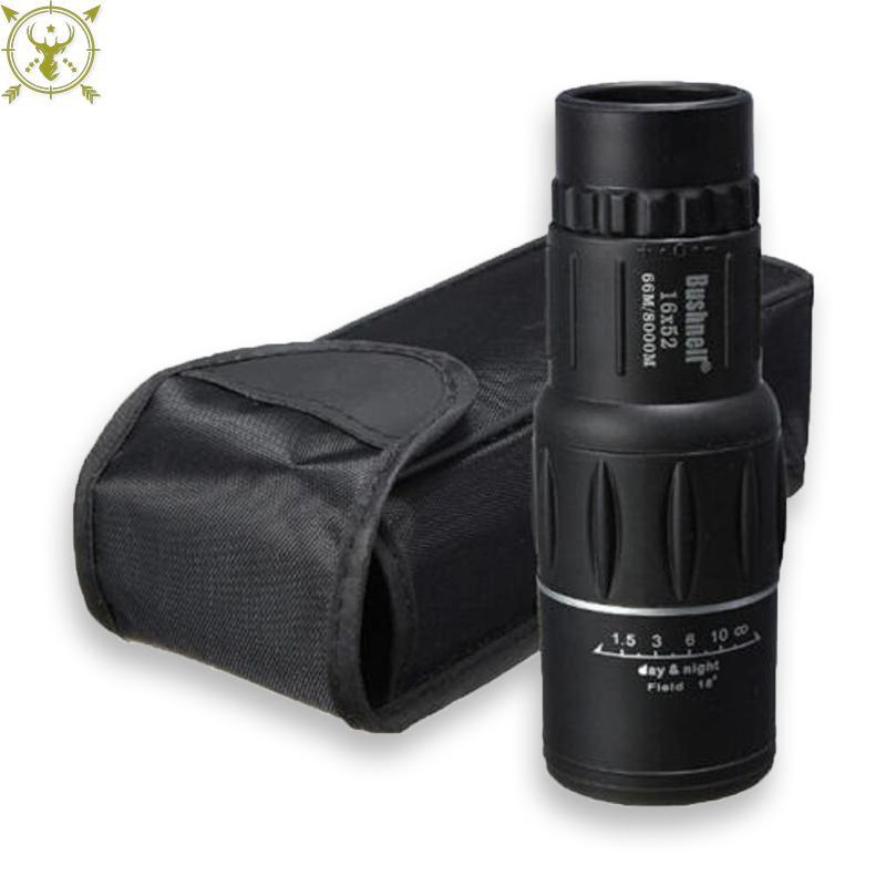 Bushnell Monocular Telescope Lens – 16 x 52 – Black