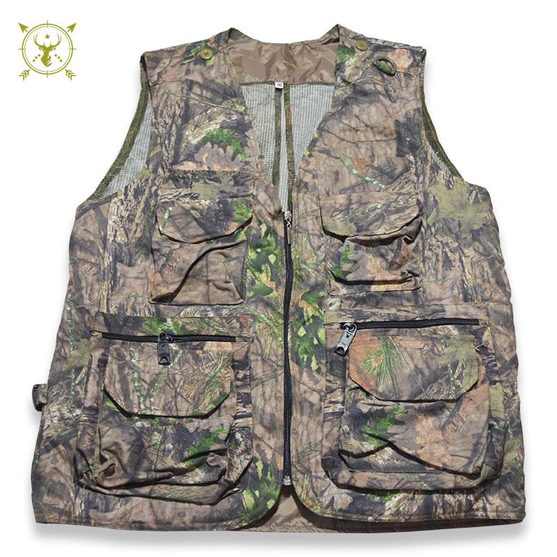 Camouflage Waistcoat For Men