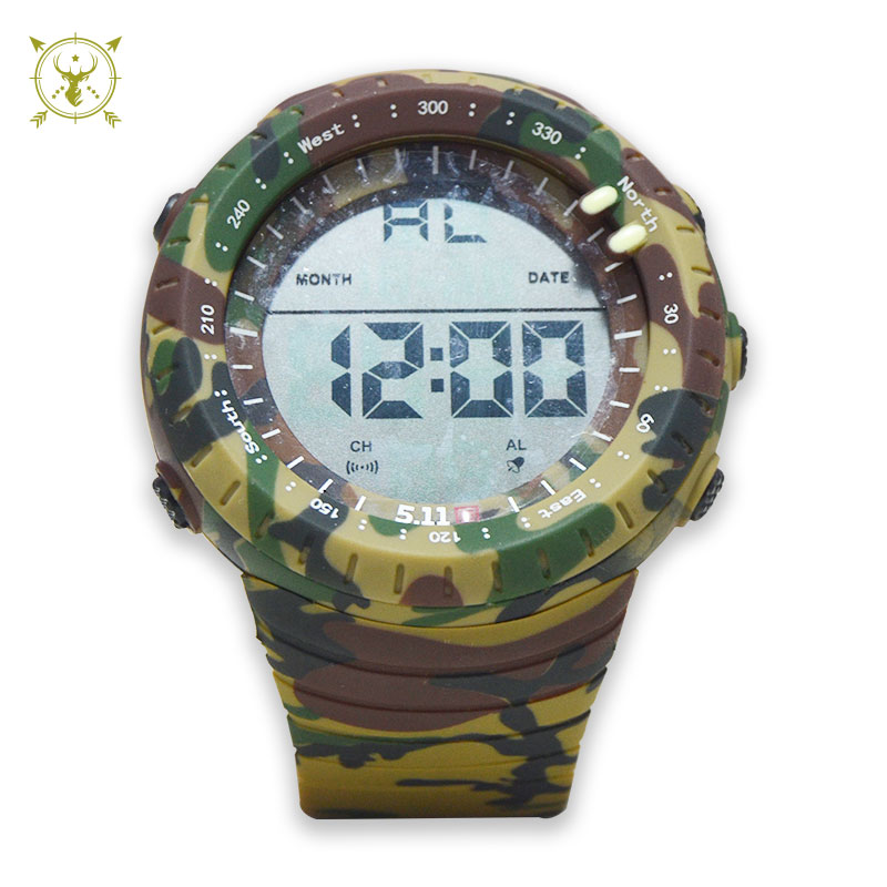 Boys Camo LED Sports Watch