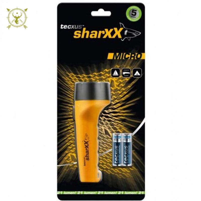Tecxus Sharxx Micro LED Flashlight