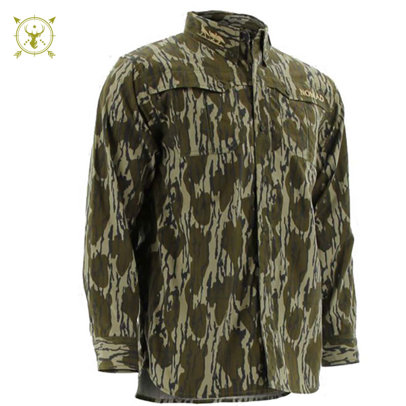 Nomad NWTF Long Sleeve Woven Shirt