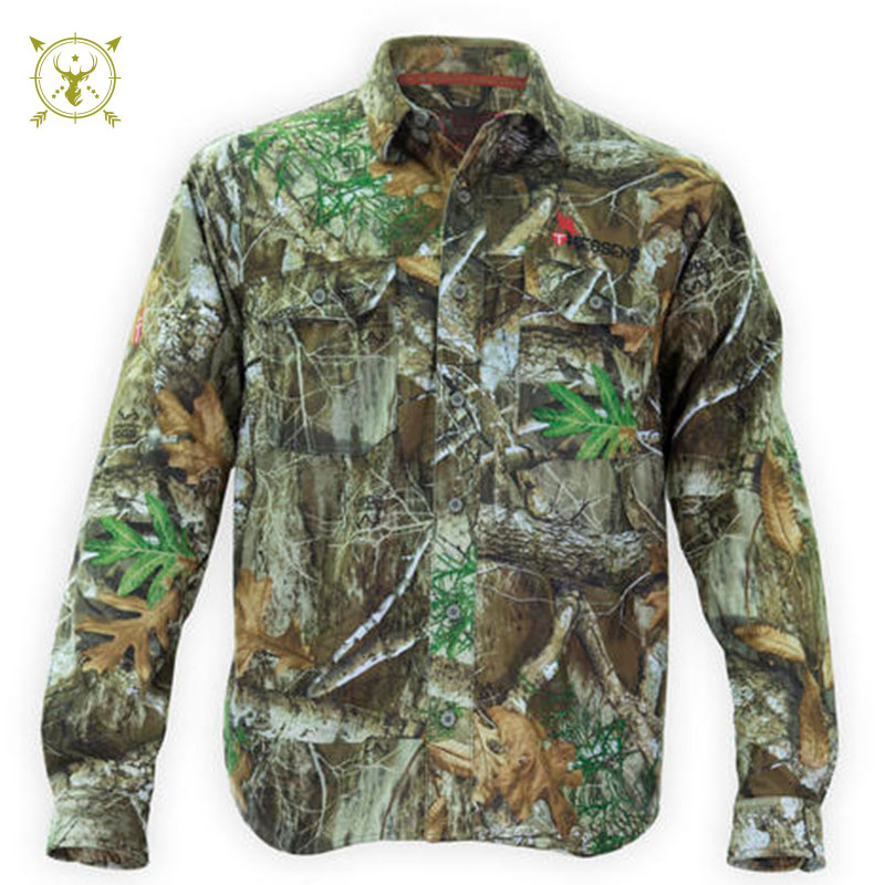 Thiessen's V1 Whitetail Button Up Realtree Shirt