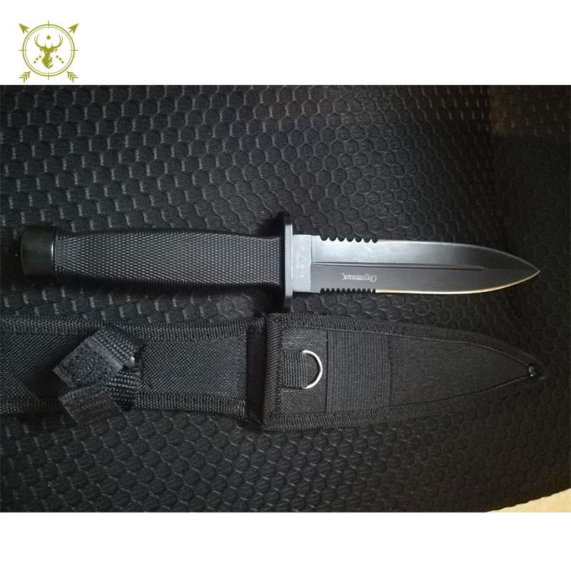 Collectible Knife with Wood Handle Oxomhuk