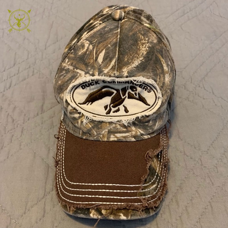 Duck Commander Distressed Camo Hat Perfect Fit