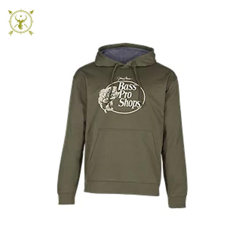 Bass Pro Shops Hoodie - Green & Gray