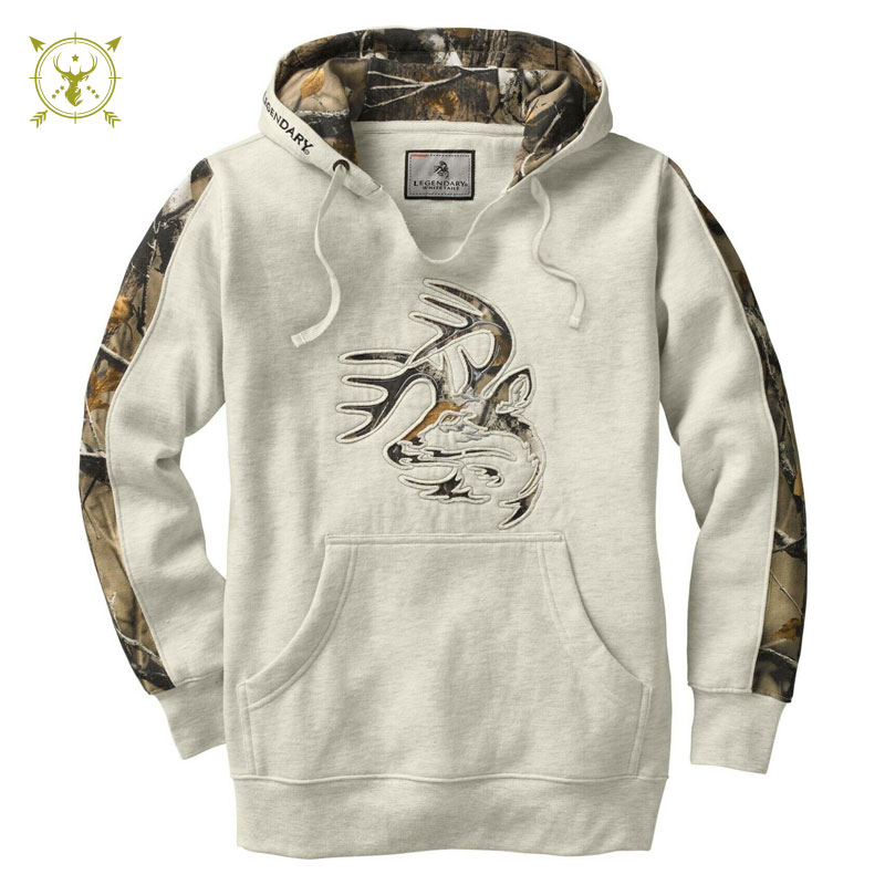 Camouflage Winter Legendary Whitetails Hoodie