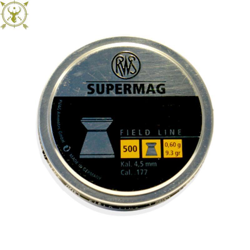 RWS Supermag .177 Caliber Pellet- 500 Count