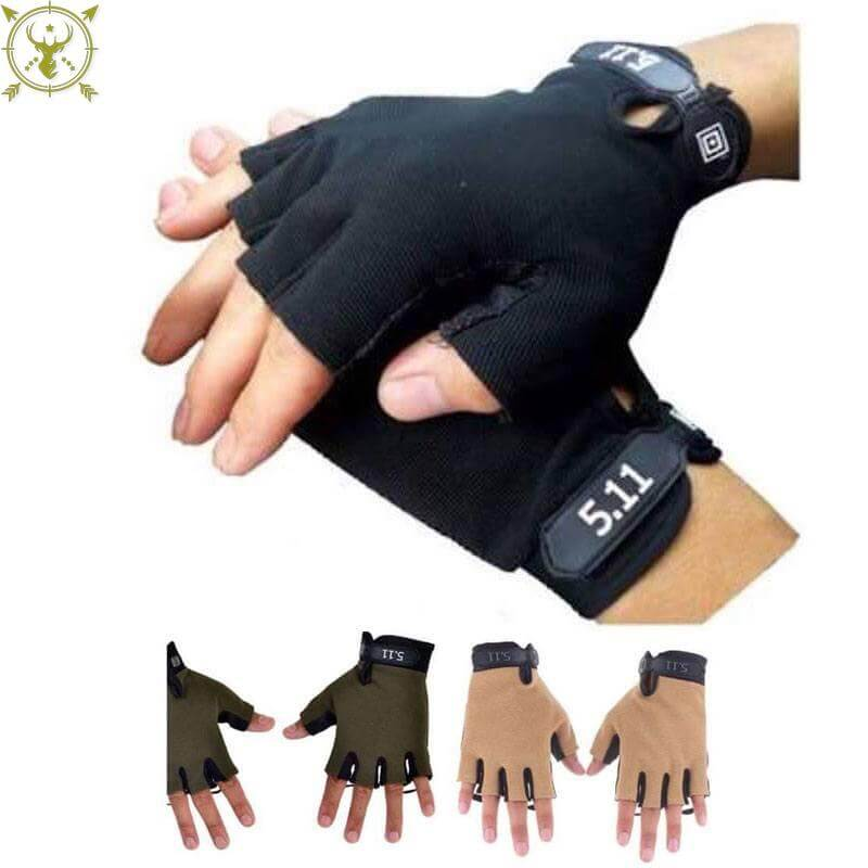 5.11 Tactical Grip Half Hand Strong Grip Gloves