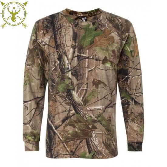 Realtree Apg Camouflage Long Sleeve T-Shirt